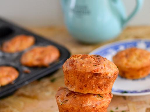 Εύκολα αλμυρά muffins