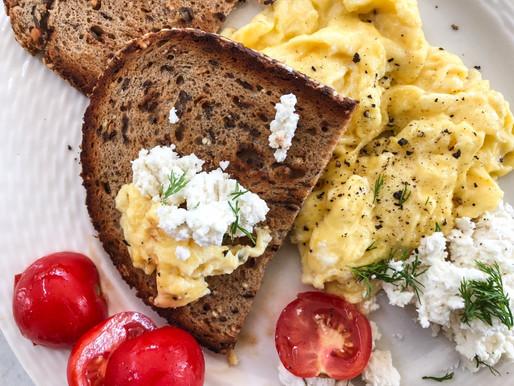 Aυγά scrambled