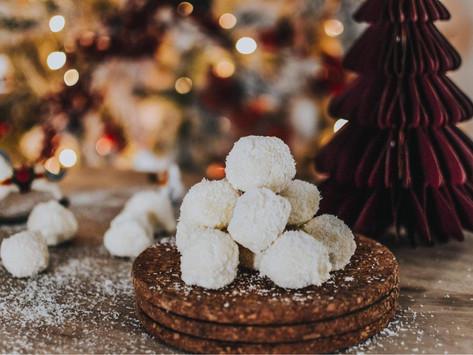 Τρουφάκια σοκολατάκια με καρύδα (4 υλικά)