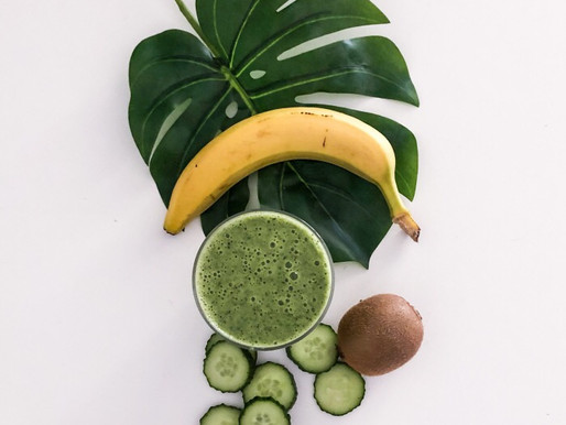 Green Smoothie με σπανάκι