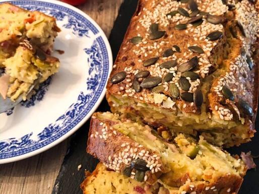 Αλμυρό κέικ με φέτα