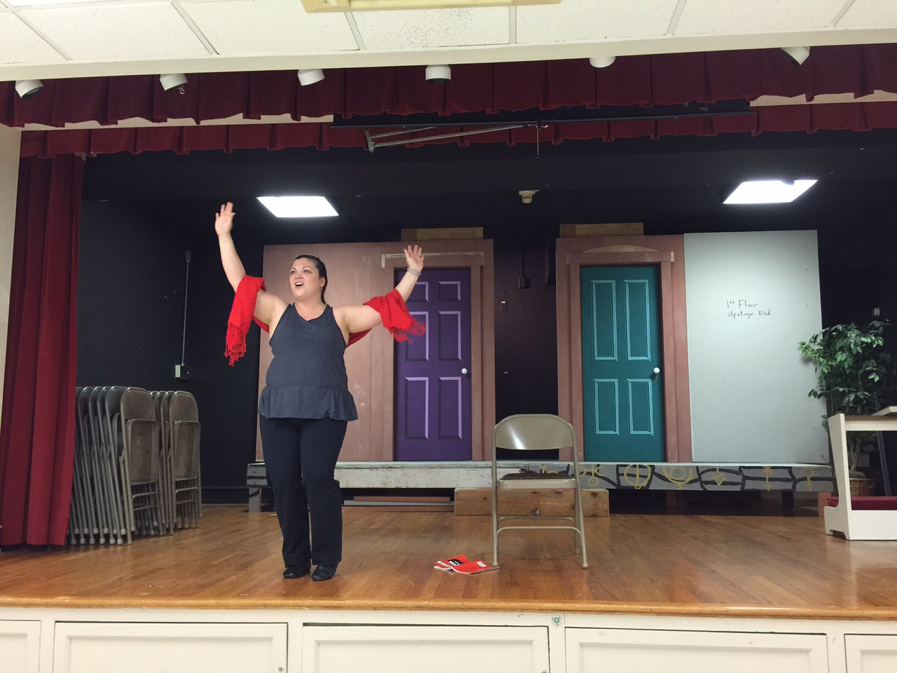 Rehearsal - I Just Want to Be a Star