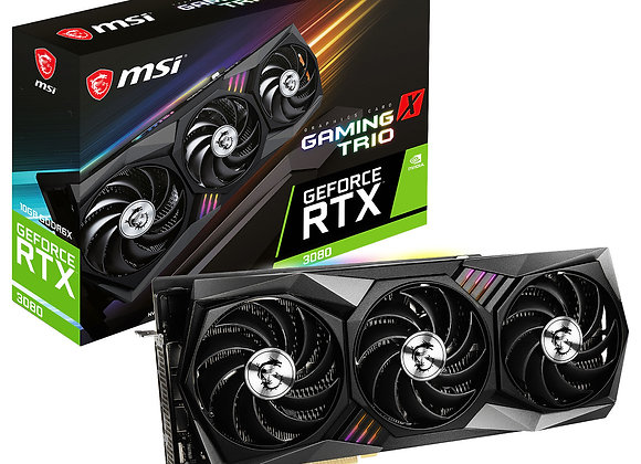 MSI RTX 3080 GAMING X TRIO 10