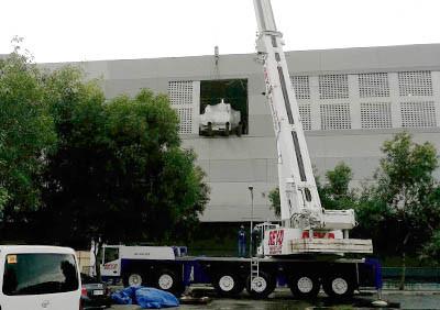 All terrain cranes rental