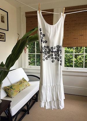 PRINTED BAMBOO DRESS