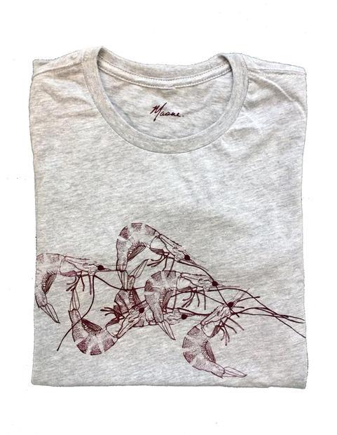grey shrimp shirt
