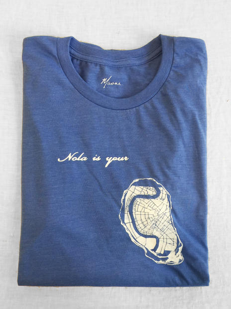 nola is your oyster tee