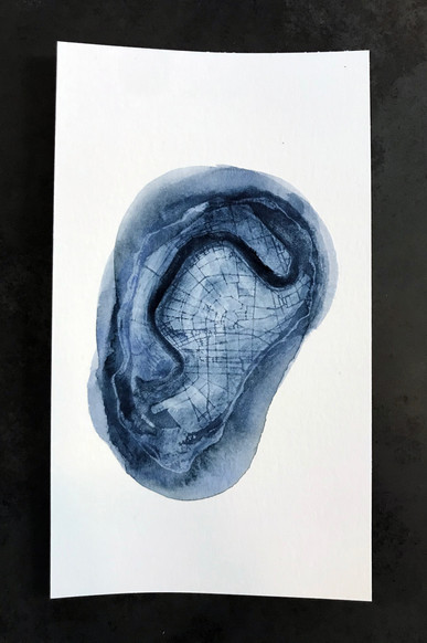 oyster watercolor