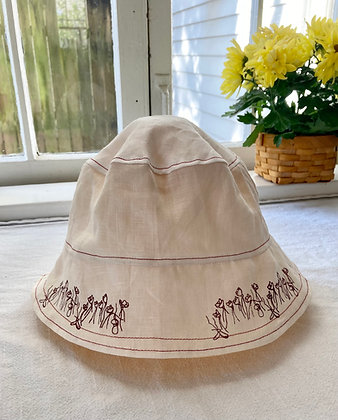 WHITE MOTHER OF MILLIONS BUCKET HAT
