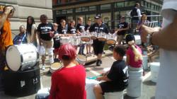 PVDF drummers