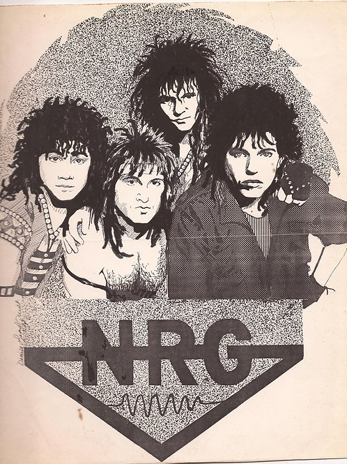 "NRG ""Live"" at Living Room 1986"