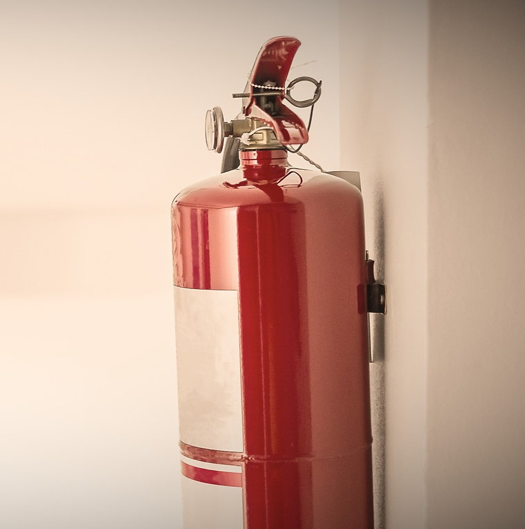 fire-extinguisher-system-on-the-wall-bac