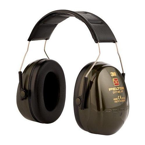 Protector auditivo 3M PELTOR Optime II, Cinta para la cabeza, 31dB,