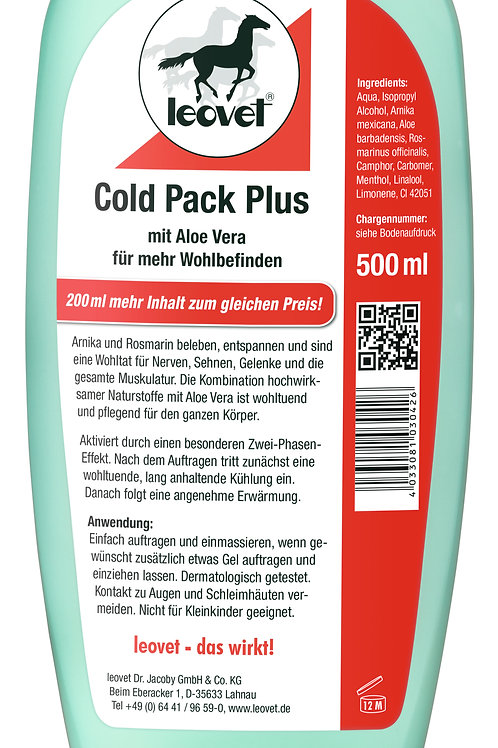 Leovet Cold Pack Plus Spender 500ml