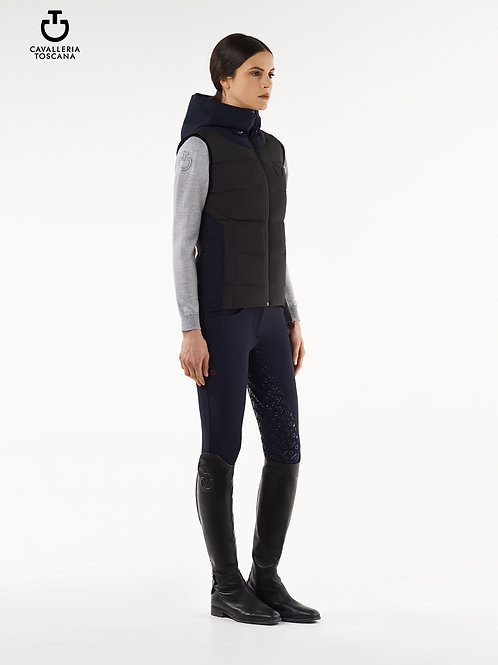 Cavalleria Toscana Hooded Puffer Vest
