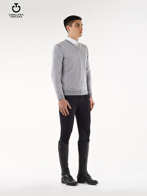Cavalleria Toscana V-Neck Sweater