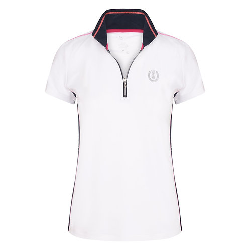 Imperial Riding Polo Top Ruby