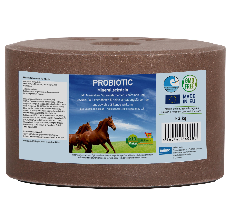 Probiotic Mineralleckstein