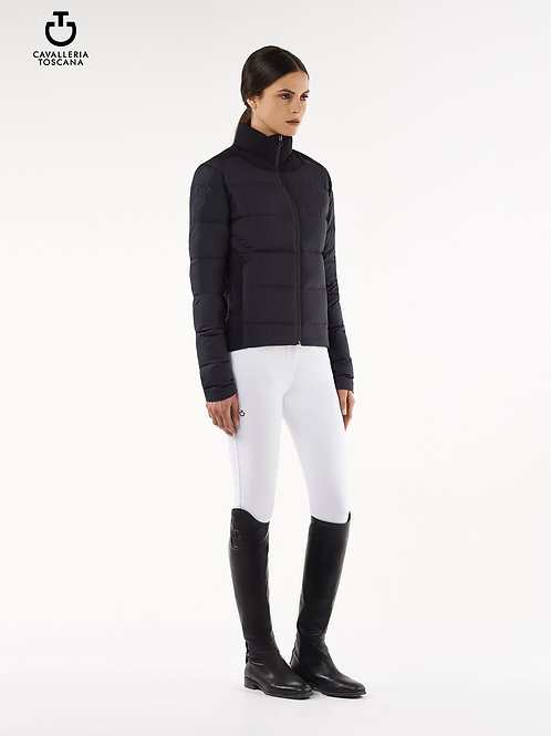 Cavalleria Toscana Nylon Puffer with Jersey