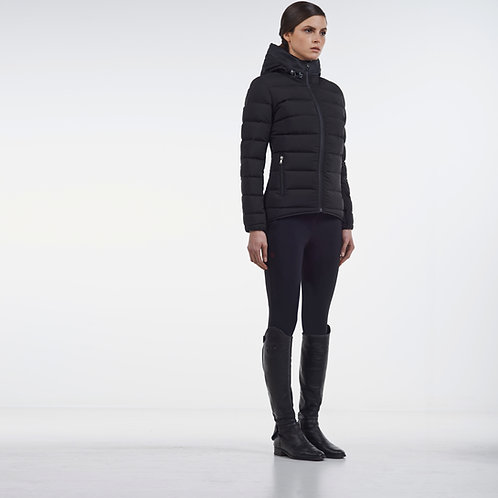 Cavalleria Toscana Triple Zip Hooded Puffer Jacket