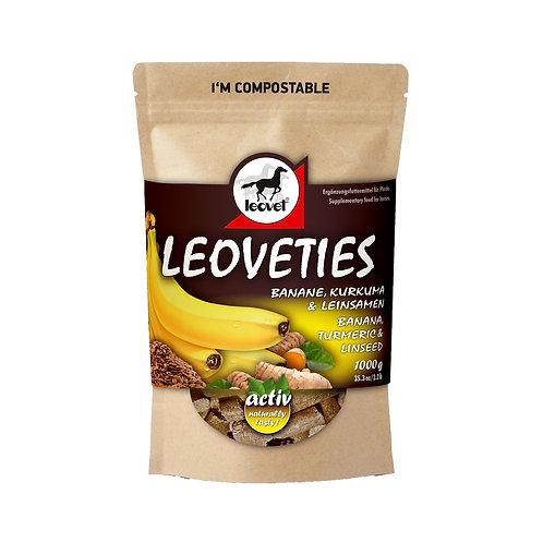 Leoveties Banane & Kurkuma & Leinsamen