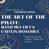 Caitlin Donohue brought Ring of Keys Multify's signature workshop: THE ART OF THE PIVOT.