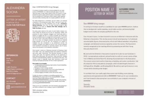 Custom Cover Letter + Strategy Session
