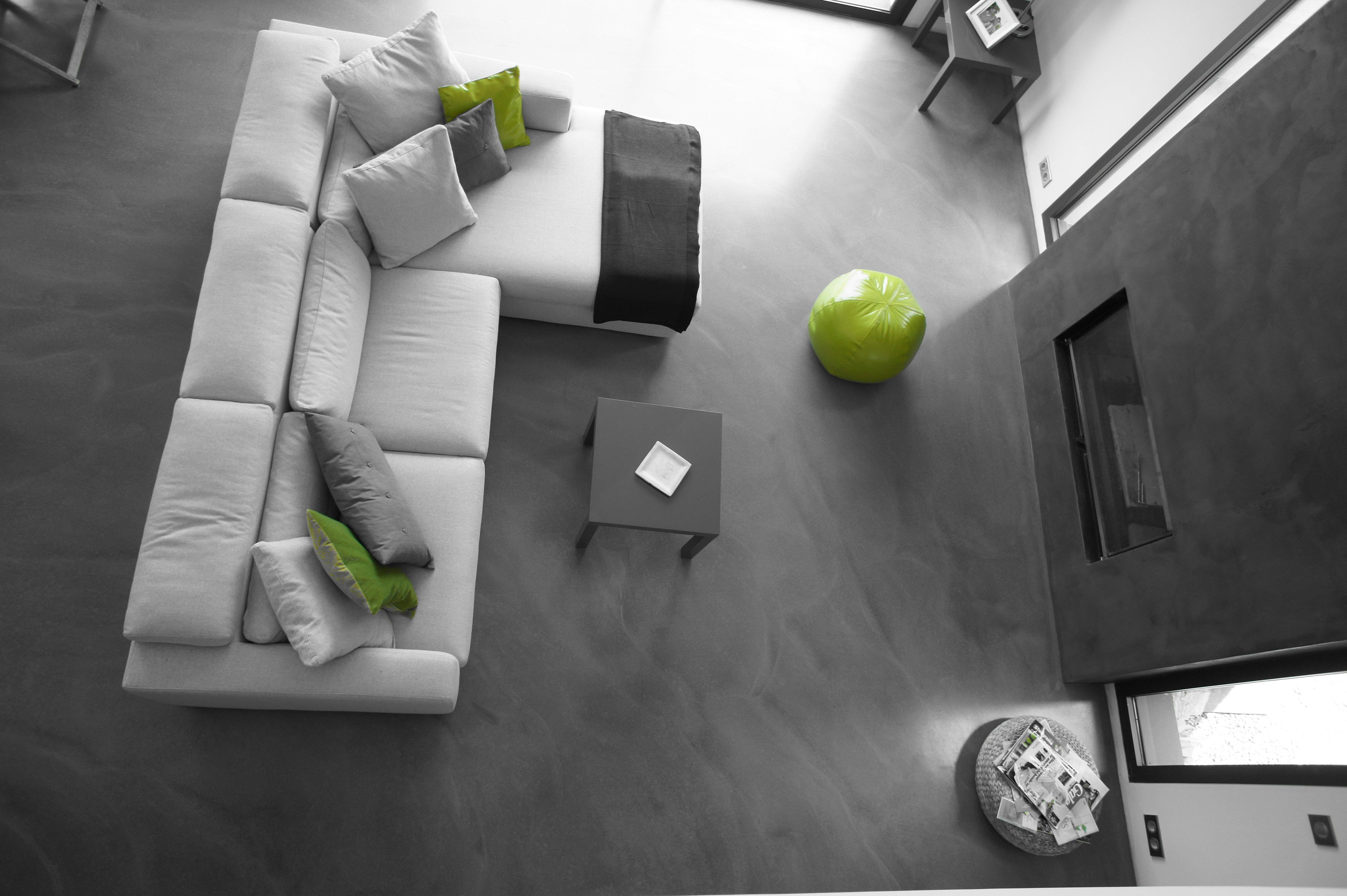 salon b ton gris souris. Black Bedroom Furniture Sets. Home Design Ideas