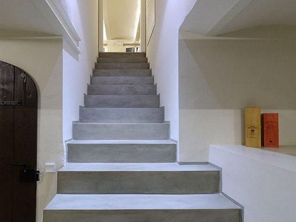 escalier beton revetement cheap formidable revetement escalier beton interieur ralisations de. Black Bedroom Furniture Sets. Home Design Ideas