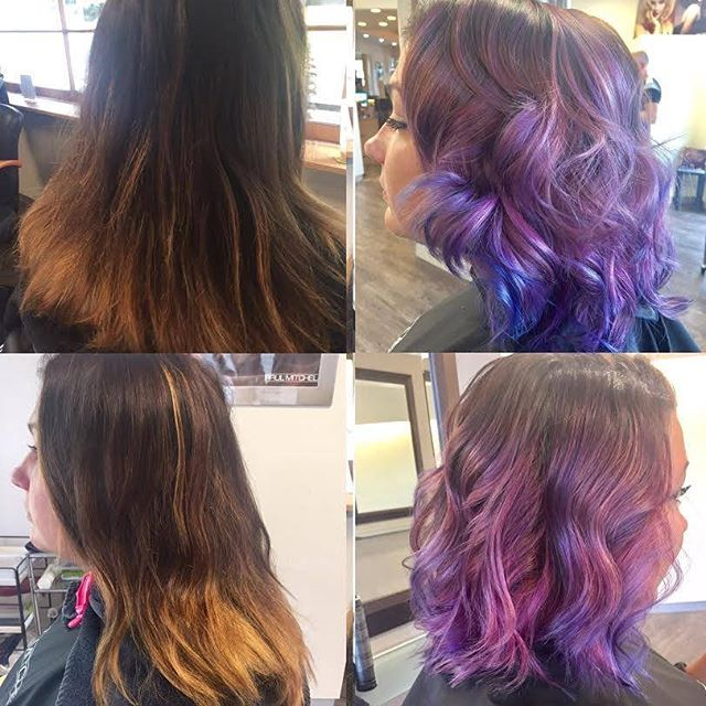 An incredible transformation from Madison using the power of POP XG! #paulmitchell #popxg #color #cr