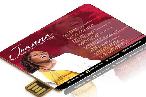 'New Sound Same God' Digital Music Card