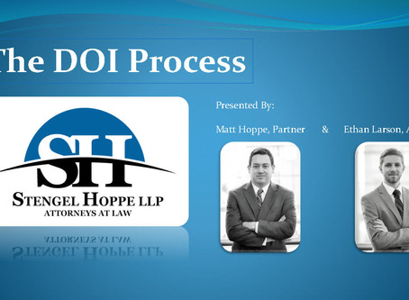 The DOI Process: The Nuts and Bolds of Building, Modifying, and Updating a Typical Title Opinion DOI
