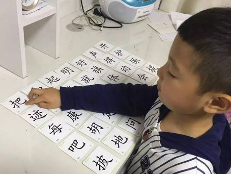 识字不可以慢慢来,一定要先学识字后学拼音
