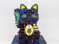 ▶ GOJIAI デコレーション - 宇宙柄招き猫 -