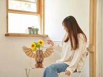 ▶ 花瓶台としてアレンジ『GOJIAI』