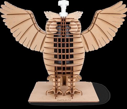 梟  -フクロウ -(羽ばたき)