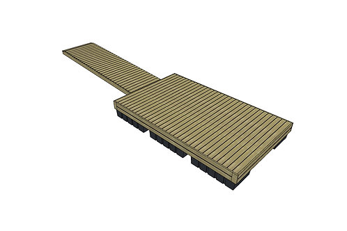T-Laituri Koko M (2400x4000)