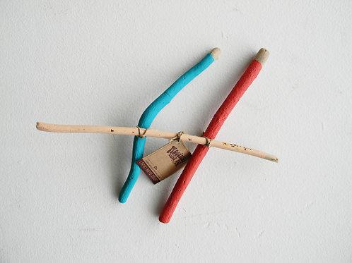 Esculturas Palitos. Artista Nayu