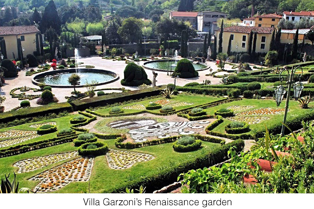 Villa Garzoni's Renaissance garden.
