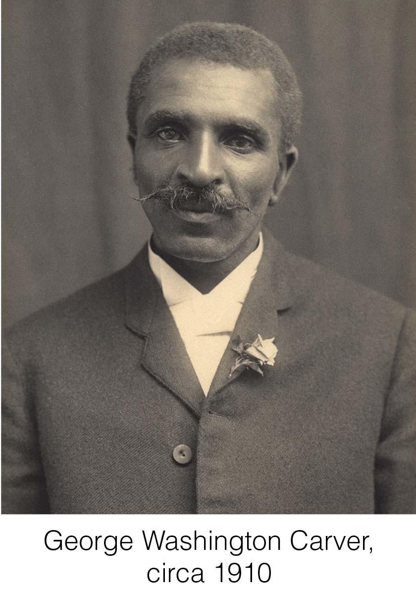 George Washington Carver, circa 1910.