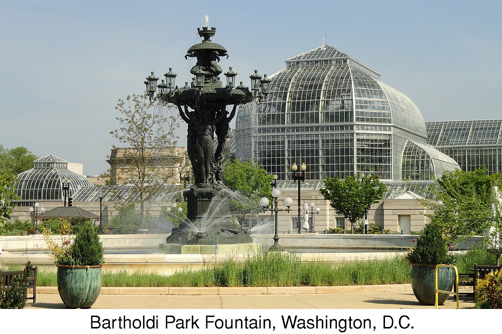 Bartholdi Park Fountain, Washington, D.C.