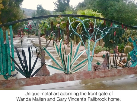 NEWS: April Open Garden in Fallbrook