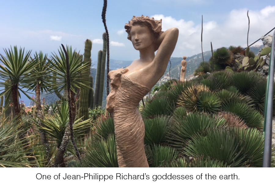 One of Jean-Philippe Richard's goddesses of the earth.