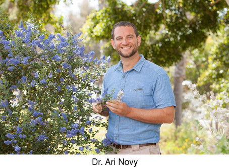 GUEST COLUMNIST: An interview with Dr. Ari Novy,CEO of the San Diego Botanic Garden