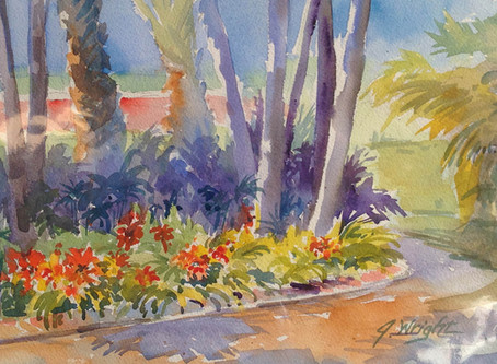 GUEST COLUMNIST: Artists' Paintings From the Garden Tour