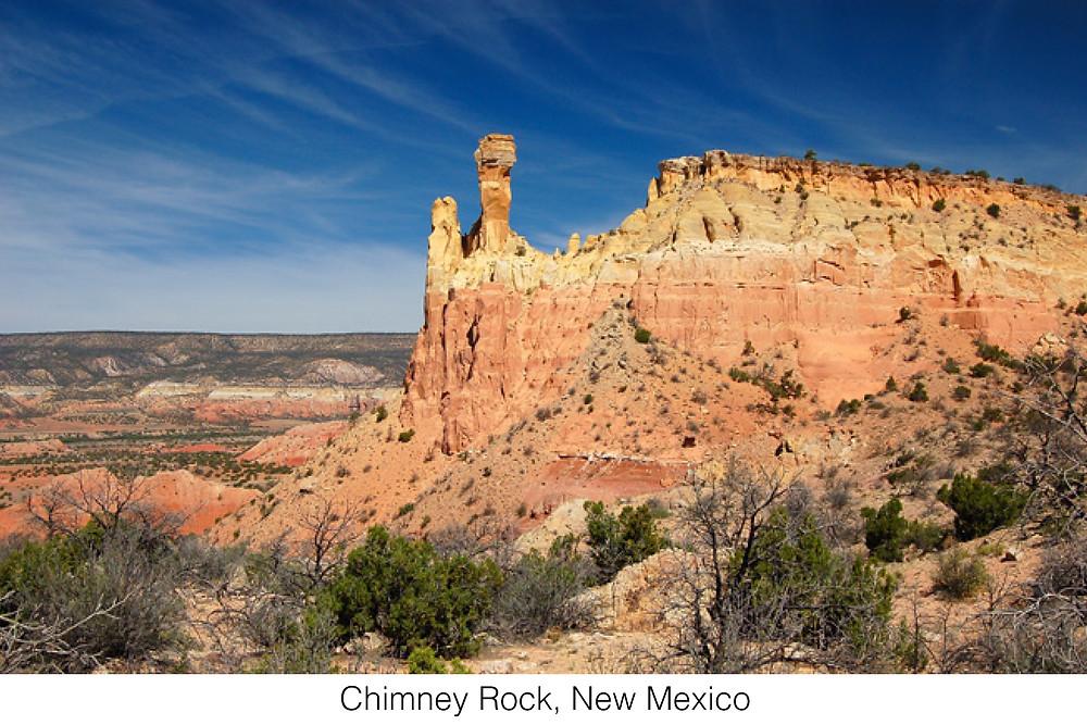 Chimney Rock, New Mexico.
