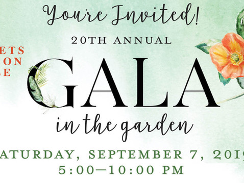 NEWS: SDBG's 2019 Gala in the Garden