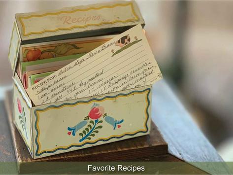 SHARING SECRETS: Favorite Garden Bounty Recipes