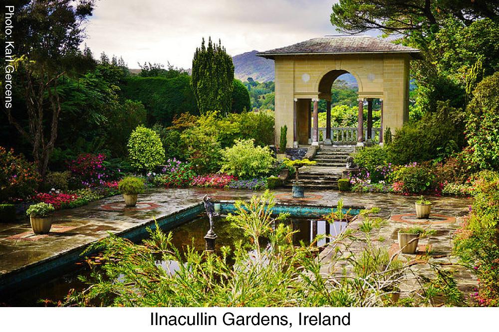 Ilnacullin Gardens, Ireland.  Photo Credit Karl Gercens