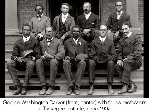 THE REAL DIRT ON: George Washington Carver: Educator, Botanist, and Champion for Poor Farmers